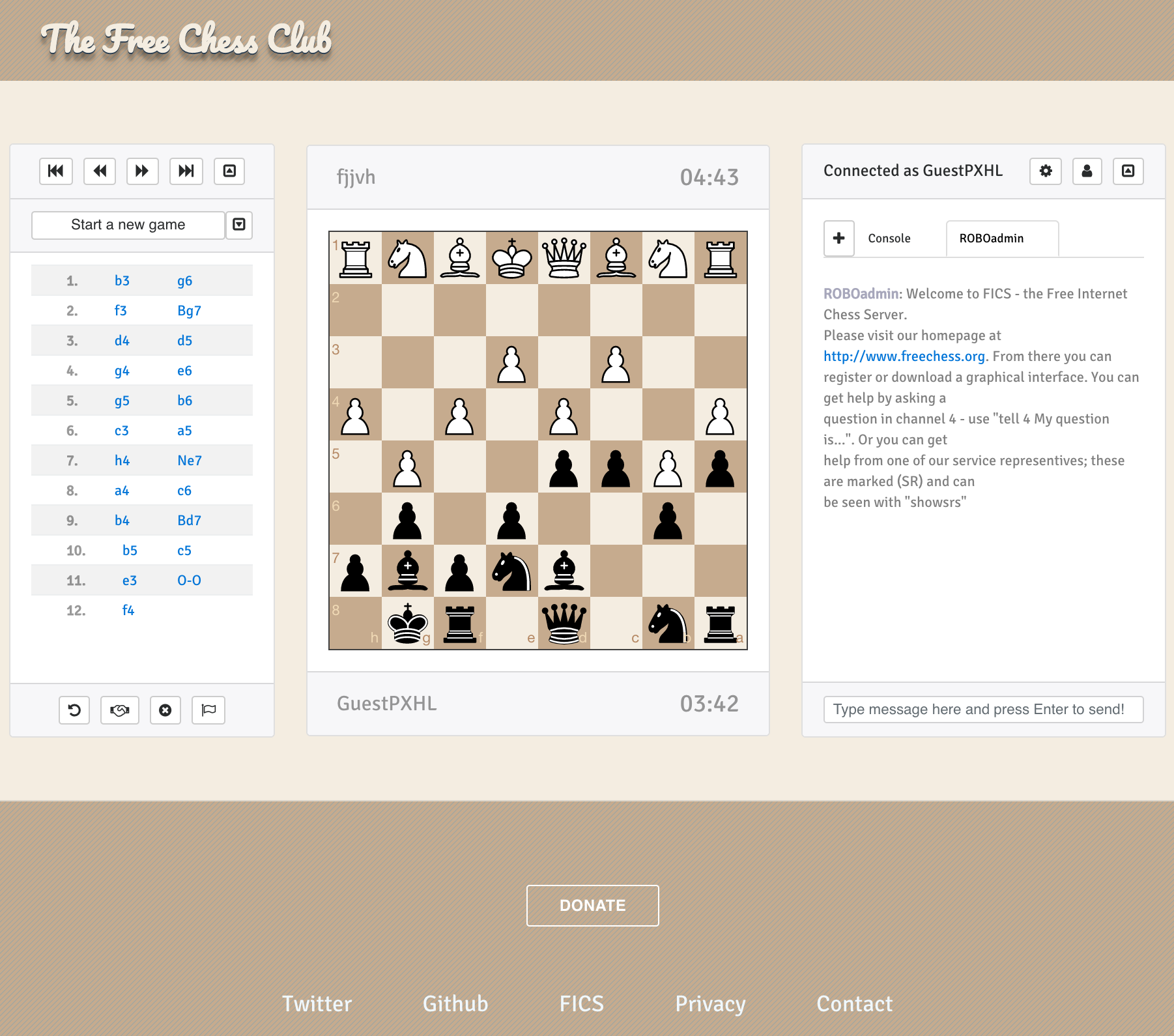 Free Chess Club: Play Online Chess on the Free Internet